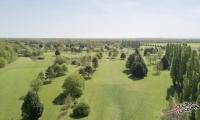 Golf de villeray en drone