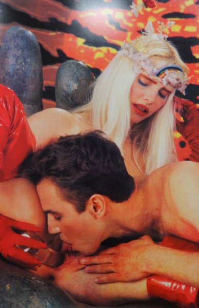 Jeffe Koons et la Cicciolina (1)