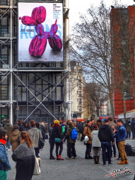 Musee Georges Pompidou exposition Jeff Koons (0)