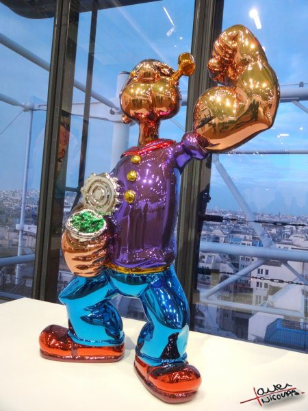 Musee Georges Pompidou exposition Jeff Koons (11)