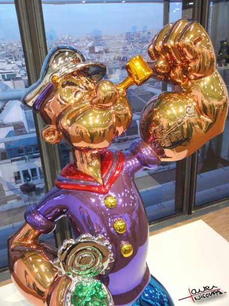 Musee Georges Pompidou exposition Jeff Koons (12)