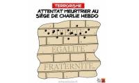 Je suis Charlie - Hommage aux victimes de l'attentat du 7 janvier 2015 contre Charlie Hebdo (13)