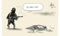 Je suis Charlie - Hommage aux victimes de l'attentat du 7 janvier 2015 contre Charlie Hebdo (14)
