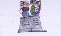 Je suis Charlie - Hommage aux victimes de l'attentat du 7 janvier 2015 contre Charlie Hebdo (9)
