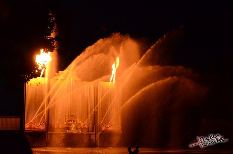 Puy du Fou - Jets d eau de nuit (08)