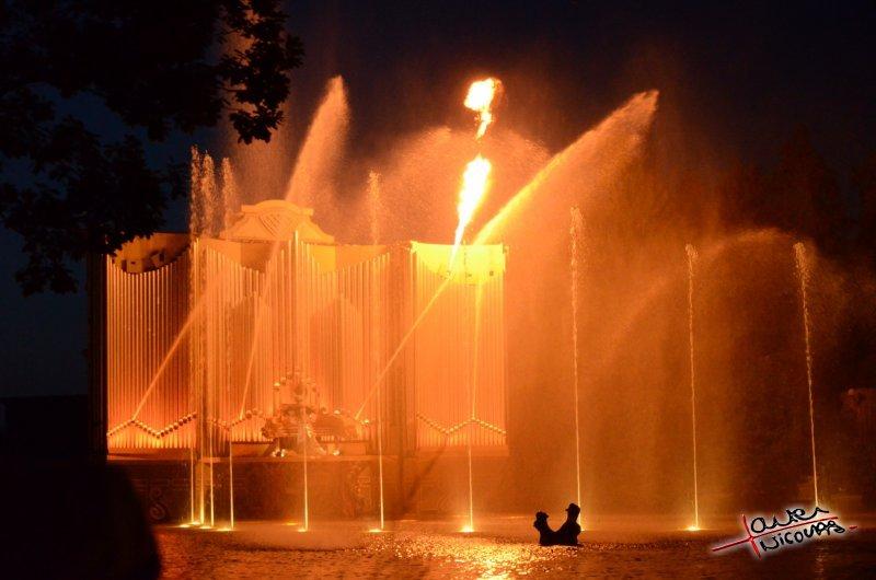 Puy du Fou - Jets d eau de nuit (09)
