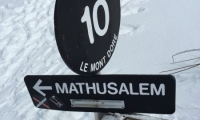 Vacance à Montdore - Piste Noire Mathusalem