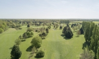 Golf de villeray en drone