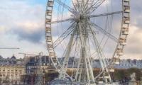 Paris place de la concorde Grande Roue