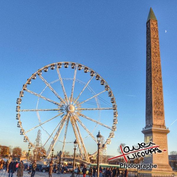 Grande roue Place de la concorde - Paris