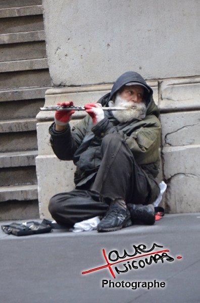 Portrait dans la rue à New York
